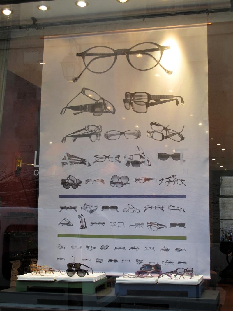 Vitrine de la boutique du Marais